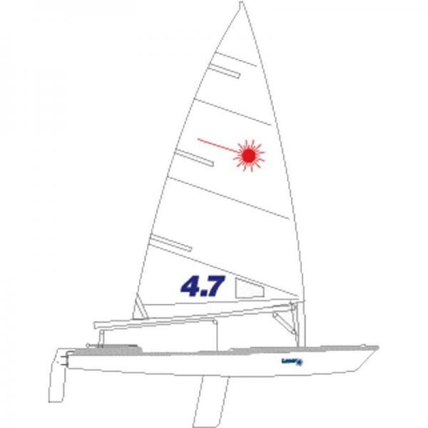 Ιστιοπλοϊκό dinghy laser or 4,70 or 4,90